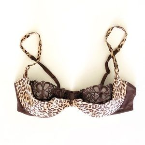 NWOT VICTORIAS SECRET Leopard Very Sexy PushUp bra